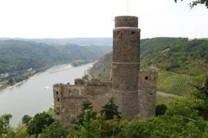 Burg Katz, along the Rhine, Germany hiking trails