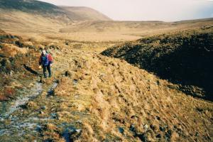the Bangor trail...the Western way in the West of Ireland  hiking trails