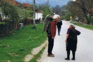 help from the local people, Planina, Bulgaria hiking trails