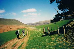 brecon beacons Wales hiking trails