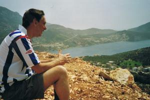 enjoying the way,  the Lycian way, Turkey hiking trails
