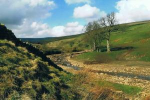 day 3 near Greenhead,  the Pennine way central and north, England  hiking trails