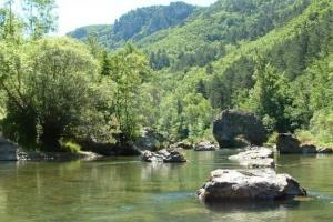Dourbie, the Cevennes: the rivers, the canyons, France hiking trails