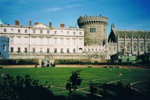 Dublin castle, the Wicklow way, Ireland  hiking trails