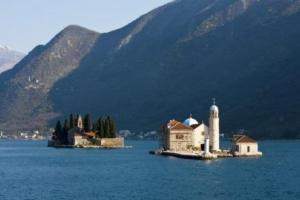 lady of the rocks, the coastal region of Montenegro hiking trails