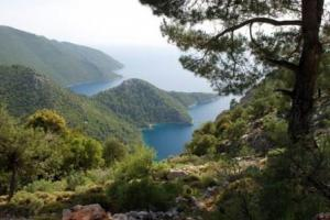 near Ucagiz,  the Lycian way, Turkey hiking trails