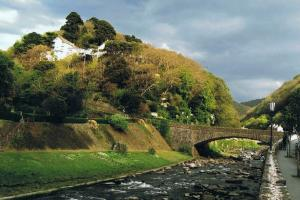 Lynmouth, South West Coast Path, Engeland wandelroutes