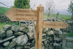 the marks...the Pennine way, England hiking trails
