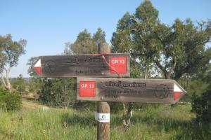 way mark via Algarviana Portugal   hiking trails