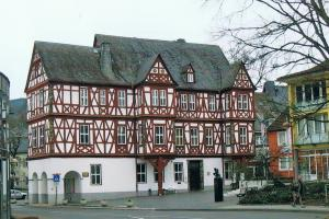 Nassau, A walk along the Lahn River, Germany, hiking trails