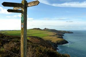 excellent marks, Pembrokeshire Coast Path Wales hiking trails