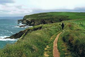 Pembrokeshire Coast Path, the path, Wales hiking trails