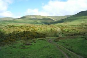 Day 1, the Pennine way, England hiking trails