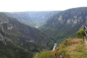 point sublime gorges du Tarn France  hiking trails