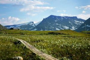 The Jämtland Triangle Sweden  hiking trails