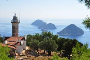 lighthouse, the Lycian way, Turkey hiking trails