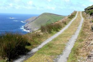 on trail, Beara way hiking trails Ireland