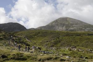 Croagh Patrick Ireland hiking trails Western way