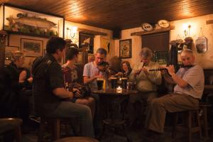 folk music in the pub, hiking trails Ireland the Western Way