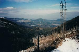 Giant mountains, situation in 1991, now it should be better....hiking trails Poland