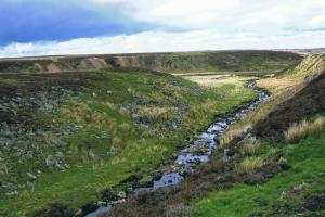Pennine way central  hiking trails England