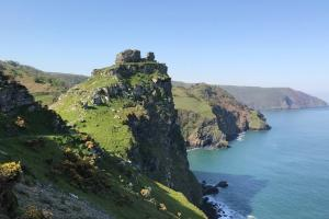 Rock Castle hiking trails England South West Coast Path