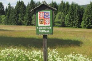 National Park Sumava Czech Republic hiking trails