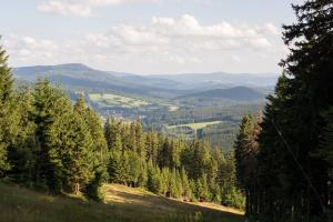 hiking trails walking Sumava National Park
