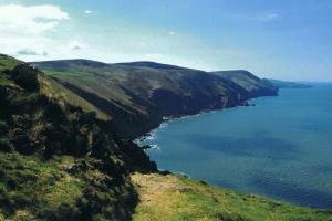 south west coast path hiking trails England