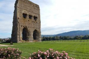 Roman temple of Janus, Morvan France hiking trails