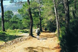away from the coast, hiking trails Turkey, Lycian way