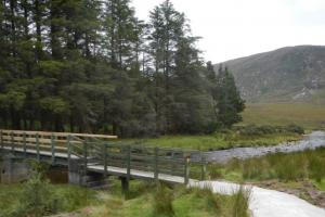 on trail hiking trails Ireland the Western way
